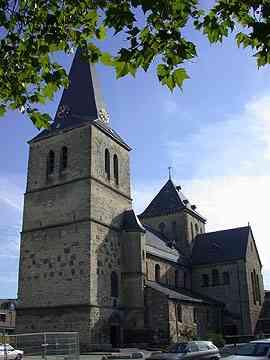 De St. Panractius Kerk in Heerlen.